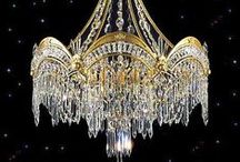 ❤︎ Breath Taking Chandeliers ❤︎ / It's always wonderful to have something beautiful to look at.   / by Barbara Poe