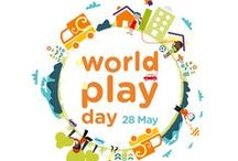 World Play Day / World Play Day is celebrated each year on 28 May.   While play is an important children's right it is sad to note that many children living in South Africa are denied this right on a daily basis. Because children learn through play, it is vital that all children are exposed to resources that enhance their learning and that they have access to safe and clean places to explore.