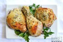 recepten / recipes chicken