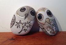 Stones / owls ROCK