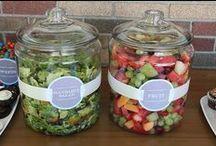 fruits and veggies (salades)