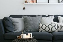 Living rooms / Decoration ideas & tips for a dreamy living room!