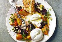 Salads / Fresh Ideas with savoury and sweet salads