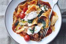 Pasta / My favourite Pasta Ideas