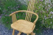 Furniture and Interiors / Hand made stick chairs, rocking chairs and furniture made by Daniel Jackson of Made for Gardens.