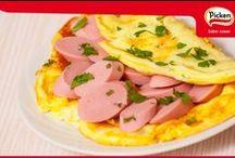 Recetas Picken / Recetas elaboradas con productos Picken, como son, las salchichas alemanas y el fiambre de cabeza. Calidad, variedad, sabor y tradición.