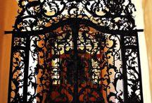 Kapuk-doors Hungary