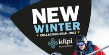 Winter collection 2016/17 / We are proud that we can present our new products with the best features that will make your sports and leisure activities in winter pleasant and provide you with reliable protection against the weather. Kilpi clothing is characterized by quality workmanship, sophisticated details and the choice of special technologies. Kilpi Winter collection 2016/2017 consists of jackets and pants for skiers, snowboarders, and free riders ski alpinists.