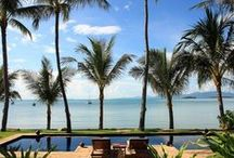 7 bedroom Koh Samui villas / Large groups of friends and family like to bond together on holiday and we have a selection of 7 bedroom villas offering your own private hotel
