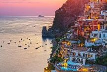 La costiera amalfitana... / Sorrento, Positano, Amalfi, Salerno