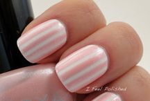 adorable & girly nails! / cute nail ideas