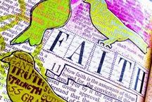 """Faith / If you are interested in journaling in your bible like you see in some of these pictures, please check out the Facebook page """"Journaling Bible Community"""" started by Shanna Noel. / by Connie Torres"""