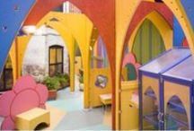 Kids' Space / Innovative spaces for children's ministry.