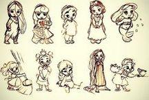 Disney: Princesses, fantasy and many memories....