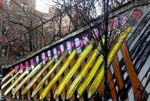 graffitis et peintures murales