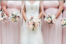 Blush and Pink Weddings / Gorgeous blush and light pink weddings!