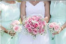 Mint and Pink Wedding Color Tones
