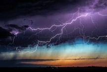 Lightning/thunder/storm / Just because I love storms and its sound.  The best weather ever =)