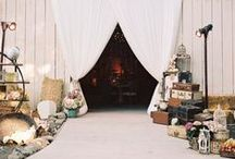 Rustic Themed Wedding / Inspiration for a rustic themed wedding!