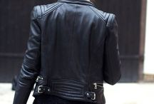 Leather Inspiration / I adore everything leather, particularly moto jackets and leather pants