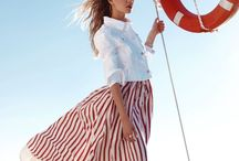 Get Nauti / nautical inspiration for your summertime, seafaring adventures.