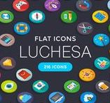 Luchesa Flat Icon / Luchesa is premium pack contains 216 icons in several different categories: Design, SEO, Web, Strategy, Management, Finance, Money, E-Commerce, Shopping & others. All flat icons are high quality! These icons are easily scalable. Perfectly fits for web, iOS, Android. Good choice for use in infographic and interfaces.