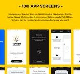 Turbo iOS Wireframe Kit / Turbo iOS Wireframe Kit professionally crafted for quick and effortless prototyping. Consists of 100 screens, 9 categories: Sign in, Sign up, Walkthroughs, Navigation, Profile , Social , News, Multimedia, E-commerce, and also main components, text styles, 70+ vector icons, that can help you to build any mobile application or a mobile version of a website with ease. You can use them for any mobile platform.
