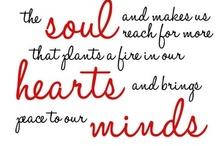Words to live by / by Christina Sapriki