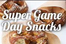 Super Game Day Snacks / Don't miss a moment while watching the big game with these easy-to-grab snacks. With your eyes on the screen, finger foods like cheeseburgers and soft pretzels are a must. Make game day a win  with these delicious and fun game day recipes. / by Ninja Kitchen