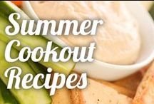 Summer Cookout Recipes / Complement great conversations with friends and family this summer with healthy meals and drinks. Browse through the delicious possibilities. / by Ninja Kitchen