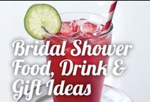 Bridal Shower Food, Drink & Gift Ideas / No bridal shower is complete without an array of treats and drinks! Ninja Kitchen appliances can help make your special day as sweet as can be. / by Ninja Kitchen