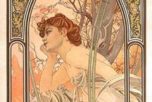 Mucha / Alphonse Mucha - the best painter ever