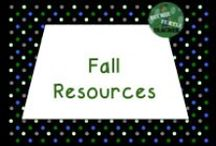 Fall Resources / Fall resources for the elementary classroom