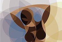 Ideas bordados/tapices / Plantillas para realizar tapicez / by Mª Jesús Sanchez