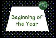 Beginning of the Year / Resources for the beginning of the year in elementary classrooms