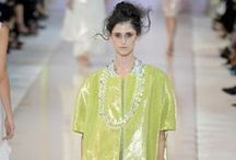 Catwalk SS 2014  / Outfits from top designers on Fashion Weeks