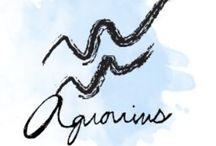 ☆ Zodiac Aquarius ☆