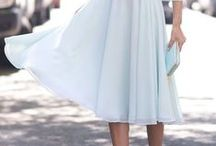 Midi Dresses & Skirts / From tulle to structured...
