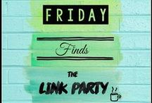 Link Party (Friday Finds)-Mountain Top Chef / #linkparty #linky #mtc #friday