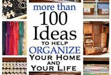 HOME Organization / Everything in it's place  / by Jenny C