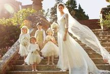 Flower girls / For the little ones on your big day./ Flower girls/ Flower girl dresses/ inspiration