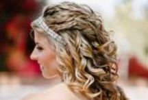 Hair / Wedding Hair Styles/ Wedding hair inspiration/ bridesmaids hair