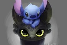 Toothless and Stitch / by Kaylynn Jondreau