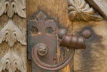 KEY HOLES, KEYS, KNOCKERS.... / by Kaylynn Jondreau