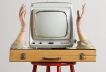 what's on TV? / oh holy telly, show me what you want me to see and tell me what you want me to belive.  / by one of two