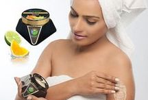 Body Scrub - Herbal Body Exfoliators For Healthy Skin /  Ayurvedic Body Scrubs - All Natural Fragrances & Ingredients  helps to exfoliate dead skin cells and deep cleans skin, while moisturising and nourishing skin. Makes the skin more elastic & Supple. Shop Now @ GoAyur.com
