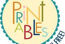 Printabls / by rose rodriguez