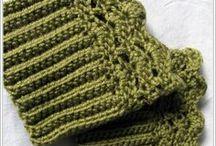 Manusi,mansete tricotate si crosetate