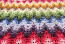 Zig-zag croseta tricot