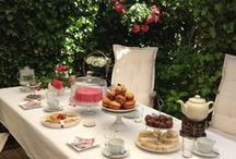 High Tea / eten en aankleding